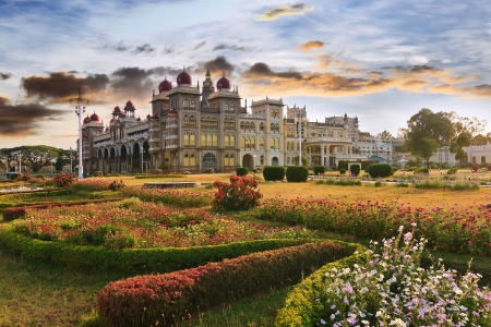The famous Mysore Palace , Mysore , India Editorial
