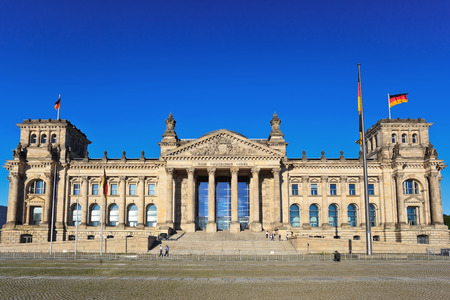 Reichstag, Berlin, Germany Stock Photo