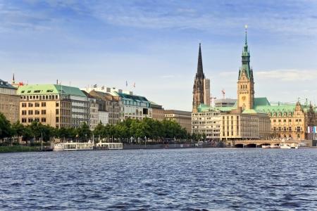 Hamburgo, Alemania Foto de archivo - 22926363
