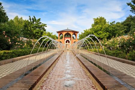 Europe style garden
