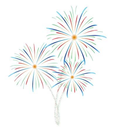 Feuerwerk Standard-Bild - 24018868