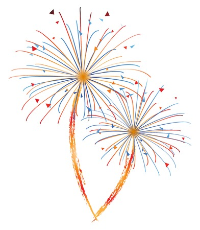 Fireworks Stock Vector - 24019287