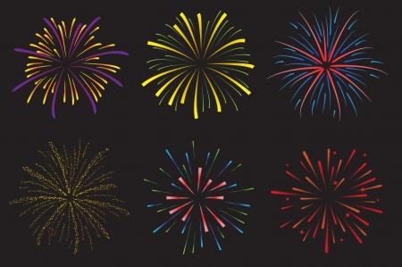 Feuerwerk Standard-Bild - 24522317