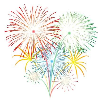Fireworks Stock Vector - 24557542