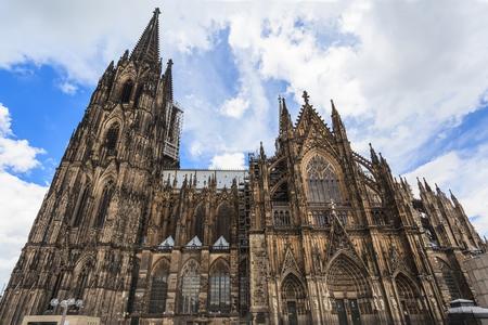 Catedral de Colonia Foto de archivo - 24878767