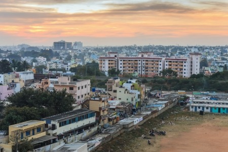 resident zone of Bangalore City, India
