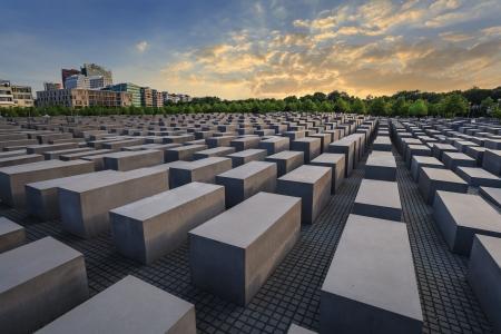 Jüdische Holocaust-Mahnmal, Berlin, Deutschland Standard-Bild - 25421403