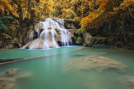 kanchanaburi: Waterfall, Kanchanaburi, Thailand