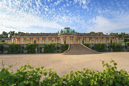 상수시 궁전, 포츠담, 독일