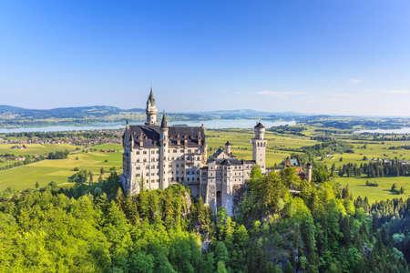 Neuschwanstein castle, Fussen, Bavaria, Germany
