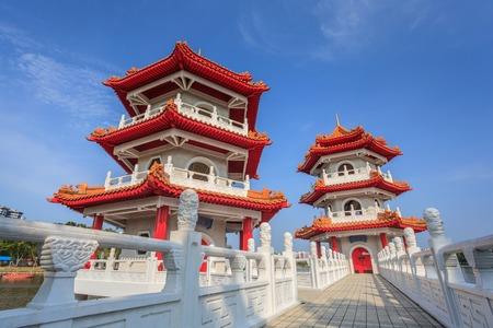 Chinese Garden of Singapore Stadt Standard-Bild - 27258865