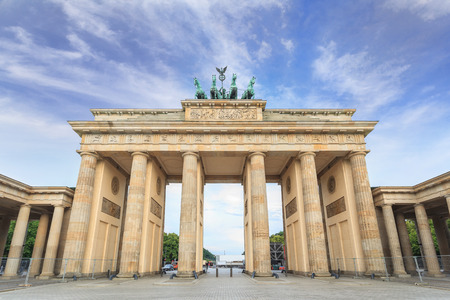 Brandenburg gate of Berlin, Germany photo