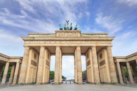 brandenburg: Brandenburg gate of Berlin, Germany
