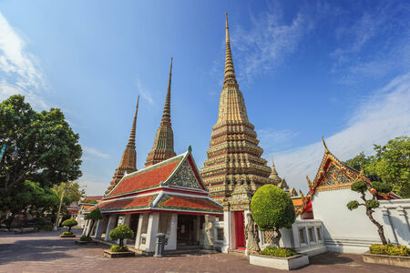 Wat Pho temple, Bangkok, Tha�lande photo