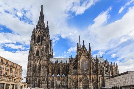 cath�drale: Cath�drale de Cologne Banque d'images