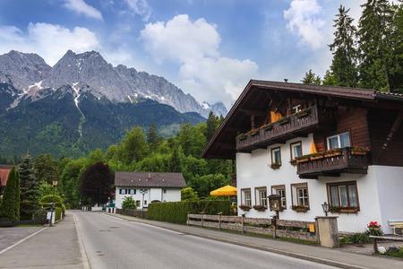 Garmisch Partenkirchen, Germany Standard-Bild