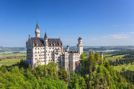 neuschwanstein: Neuschwanstein castle, Fussen, Bavaria, Germany