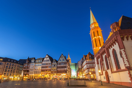 roemer: Roemer the old town of Frankfurt, Germany