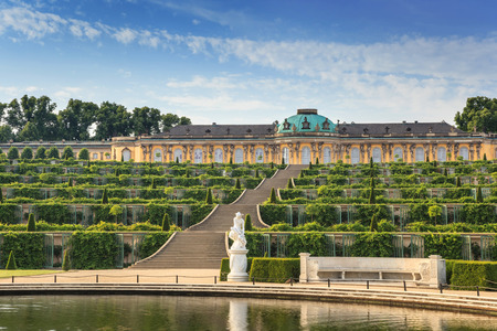 Palacio de Sanssouci, Potsdam, Alemania Foto de archivo - 28273633