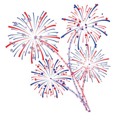 Feuerwerk Standard-Bild - 29100318