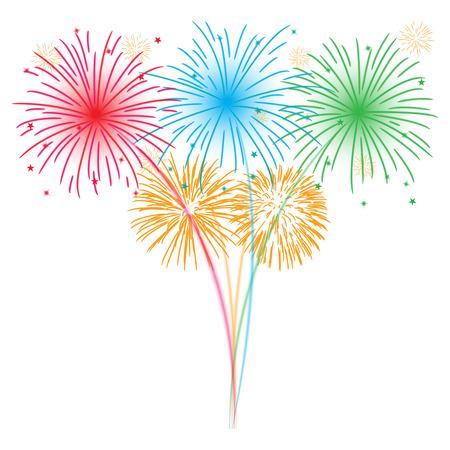 Feuerwerk Standard-Bild - 29420157