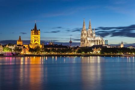 Cologne city skyline, Germany photo