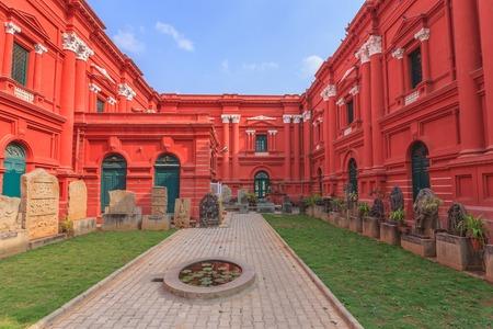 karnataka: Museo del Gobierno de Karnataka en Bangalore India
