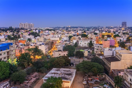방갈로르시 스카이 라인, 인도 스톡 콘텐츠
