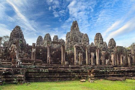 bayon: Bayon Temple at Angkor Wat, Siem Reap Cambodia