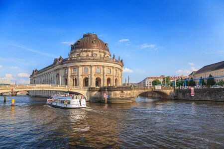 bode: Bode Museum on museum island at Berlin Germany