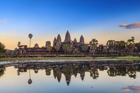 Angkor Wat Tempel, Siem Reap, Kambodscha Standard-Bild - 35959686