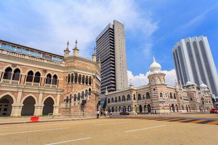 sultan: Bangunan Sultan Abdul Samad at Kuala Lumpur, Malaysia Editorial