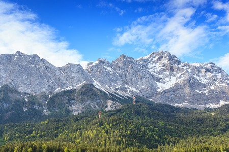 zugspitze mountain: Zugspitze mountain the top of Germany