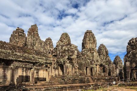 siem reap: Bayon Temple at Angkor Wat, Siem Reap Cambodia