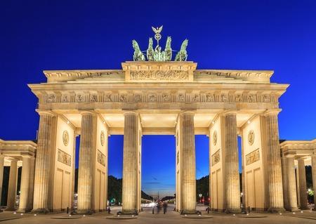 독일 베를린의 브란덴부르크 문 (Brandenburg Gate)