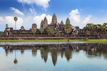 Angkor Wat Temple, Siem Reap, Cambodia Imagens - 38121884