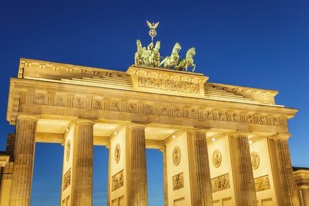 brandenburg: Berlin Brandenburg Gate, Germany Stock Photo