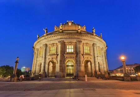 bode: Bode Museum on Museum Island of Berlin Germany