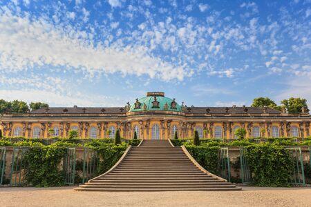 schloss: Sanssouci palace, Potsdam, Germany