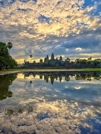 reap: sunrise at Angkor Wat Temple, Siem Reap, Cambodia