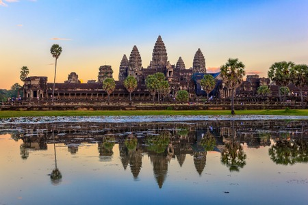 to reap: Angkor Wat Temple Siem Reap Cambodia