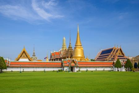 bangkok landmark: Wat Phrakaew Temple, Bangkok, Thailand