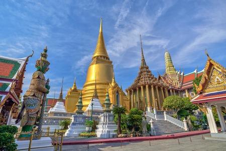 Wat Phrakaew Temple, Bangkok, Thailand Imagens - 39926690