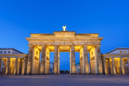 brandenburg: Brandenburg gate of Berlin Germany