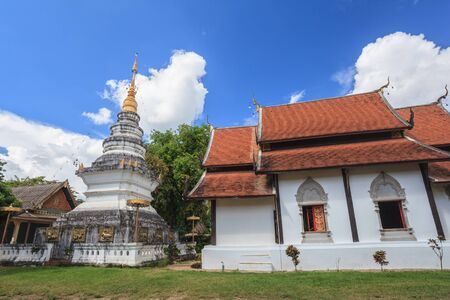 chiangmai: old temple at Chiangmai province of Thailand