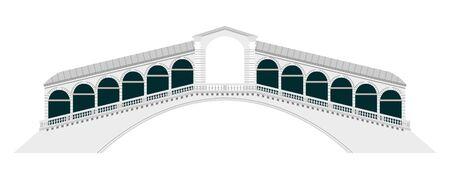 venice italy: Rialto Bridge  Venice  Italy