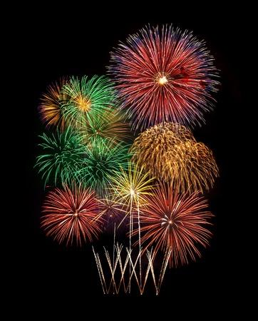 Vuurwerk nieuwjaarsfeest