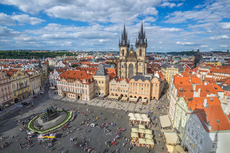 old town square: Old town square - Prague - Czech