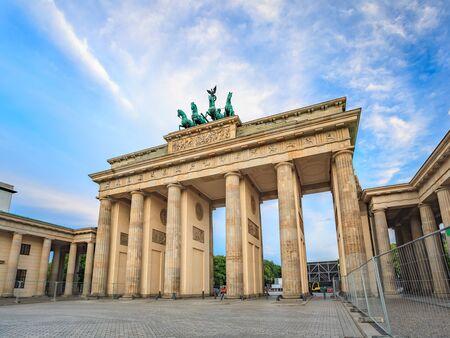 brandenburg: Brandenburg Gate - Berlin - Germany Stock Photo