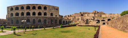 golconda: Ruin city at Hyderabad city - India
